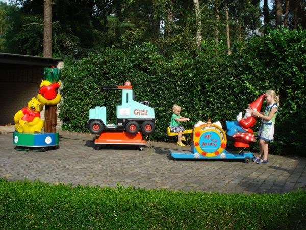 kiddy rides kinder attractie