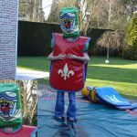 Lancelot ridder verkleedpartij verkleden kinderfeest