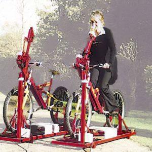 bierfiets fiets op rollen