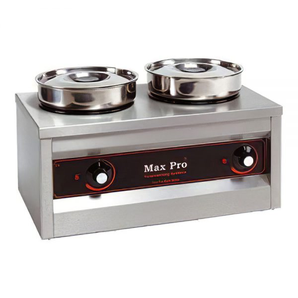 chocolade warmer oven pan