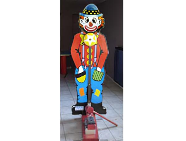 Kinderjut clown kop van jut