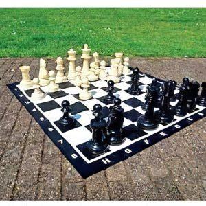 schaakspel groot tuin