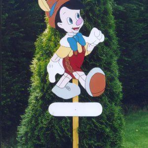 Geboortebord Pinokio