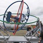 gyroscoop-attractie draaien